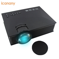 Portable wireless wifi UC46 Led Mini home theater projector 1080P with 1500 Lumens