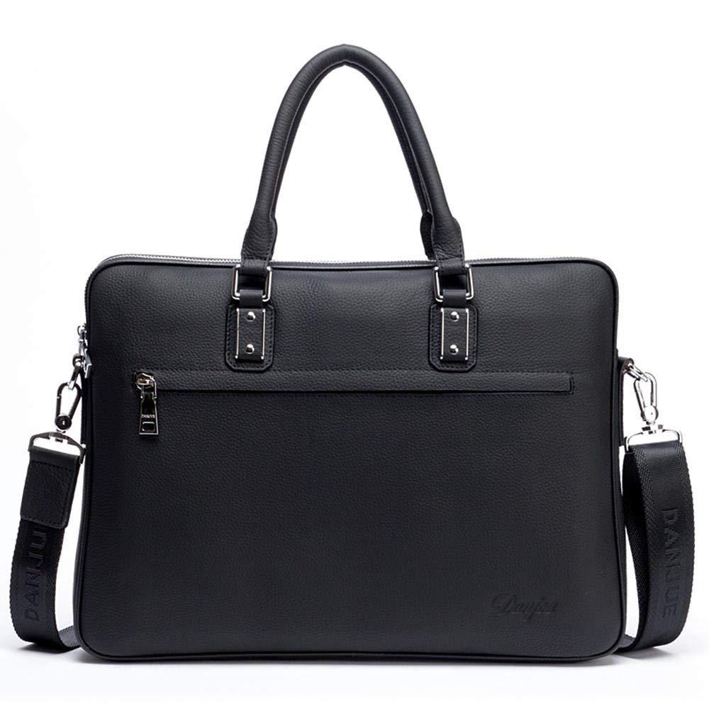 Get Quotations · DANJUE leather men s bag simple business casual bag  briefcase handbag shoulder slung men s bag fashion trend 4d7ee6c1df7eb