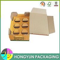 custom printed recycled cardboard quail egg cartons