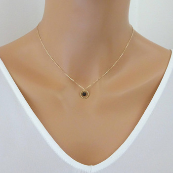 Essential Oil Jewelry Wholesale Cheap Gold Chain Lava Stone Diffuser Necklace