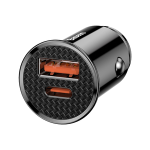 Baseus New Design Fast PD PPS Car Charger for Iphone XS Mate 20
