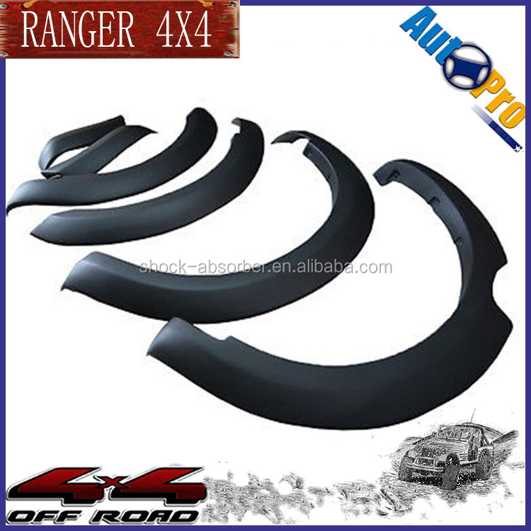 FORDs Ranger Parts Car Fender Flares 4x4 Off Road Fender Flares For FORDs Ranger 2016