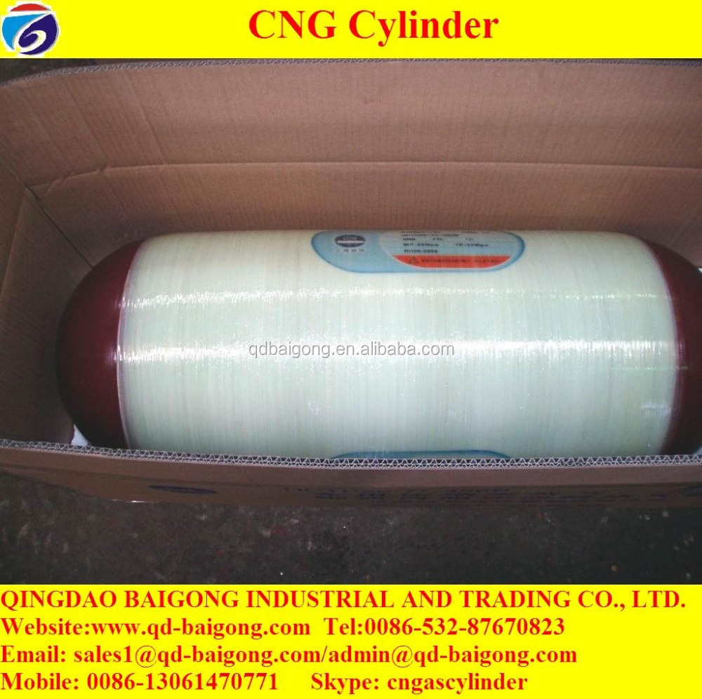 50L to 210L Empty Type 2 CNG Carbon Fiber Tank