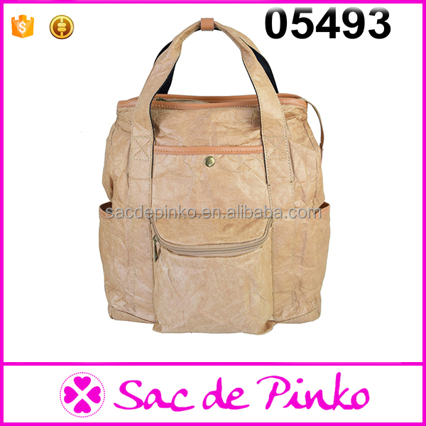China Supplier New Arrival School Backpack Unique Paper Bag
