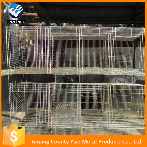 Best seller Cheap rabbit farming equipment /Cheap Metal Wire Rabbit Cage Wholesale (Factory)