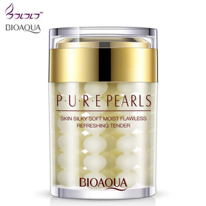 BIOAQUA Pure Pearls New Face Cream Skin Care HA flawless Whitening Moisturizing Anti Wrinkle Face Care day creams & moisturizers