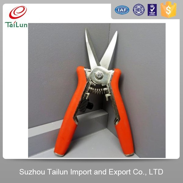 stainless steel blade garden pruning snips garden tools wholesale