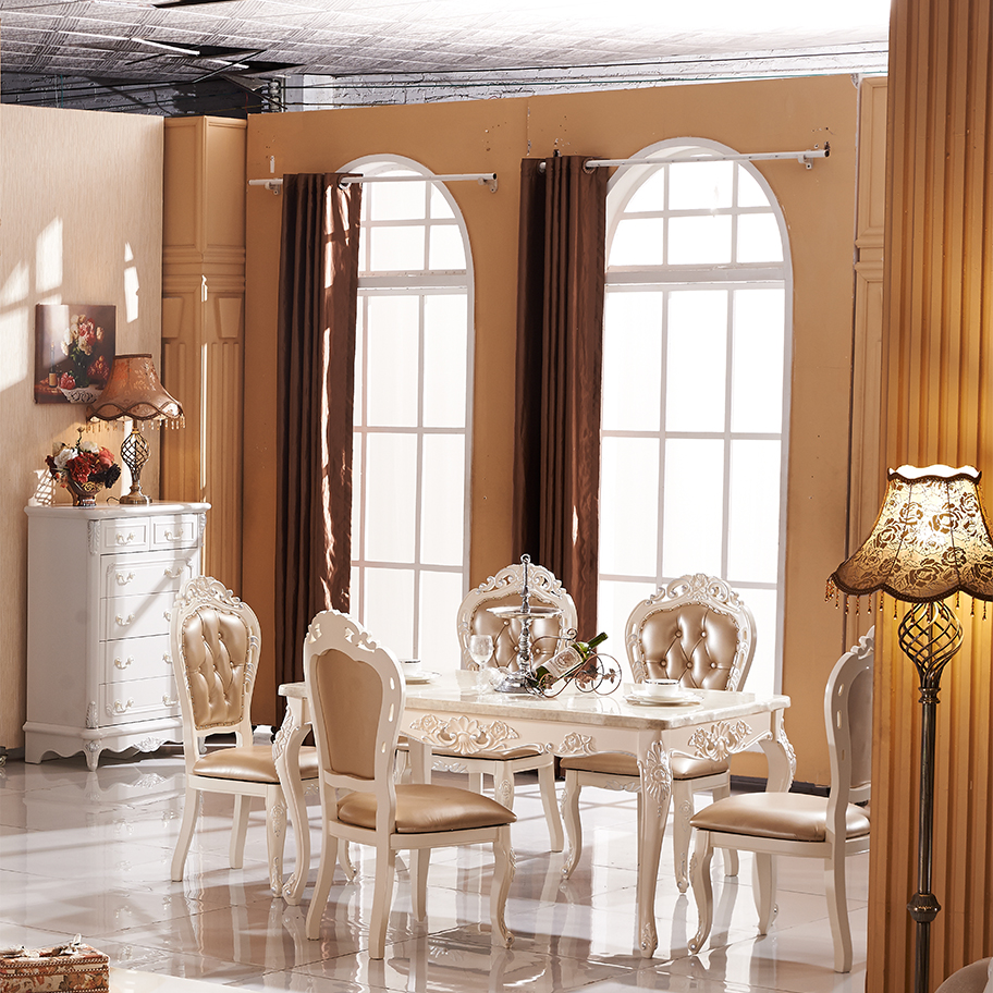 Stile europeo mobili classici, di lusso in legno sala da ...