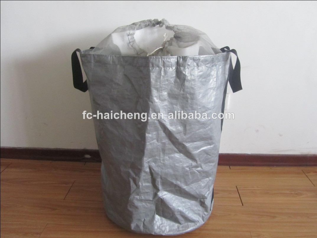 Leaves Collection Bags Ping And Trush Bin Heavy Duty Fabric Canvas Tarpaulin Product On Alibaba