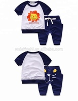 China Clothing Custom Kids Clothes Outfit Children's Girls Summer Apparel