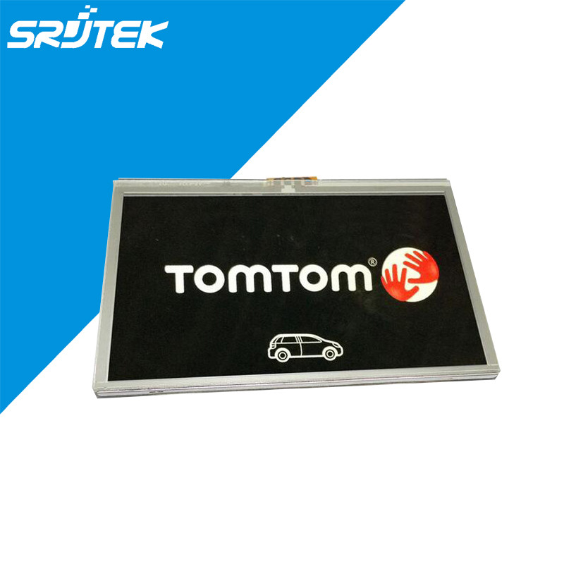 Original 4.3 Inch TOMTOM Start 20 Traffic LCD Display Panel With Touch Screen Digitizer