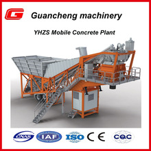 Small 25m3/h YHZS25 kyc concrete batching plant machine prices in Shandong
