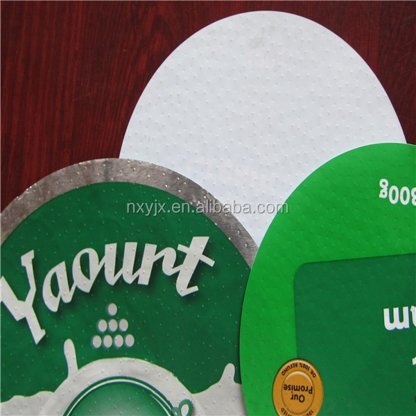 aluminum foil lids coated easy open pp films