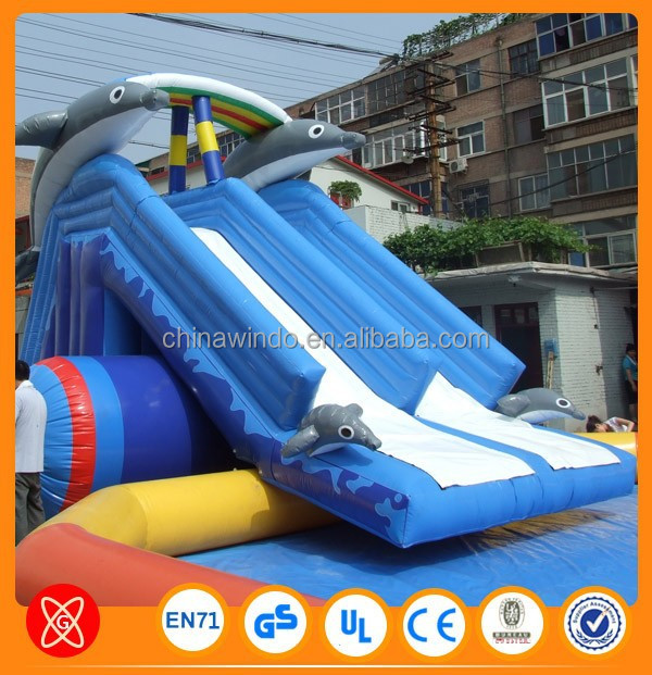 Inflatable Bouncer Inflatable Super Water Slide Zorb Ball