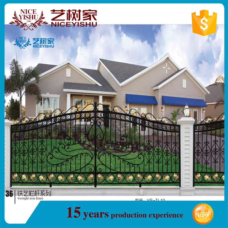 Used Wrought Iron Fence Fence Grill Design Boundary Wall Grill Fence Colour View Balcony Grill Designs Yishujia Product Details From Shijiazhuang Yishu Metal Products Co Ltd On Alibaba Com