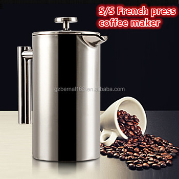 Stainless Steel French Press Coffee Maker Expresso Only Usd3