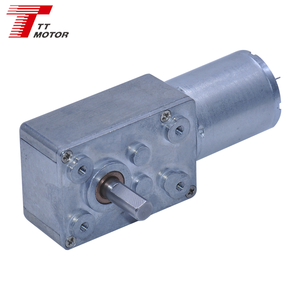 6v DC Worm gear motor with customized screw shaft dc motor for vending machine