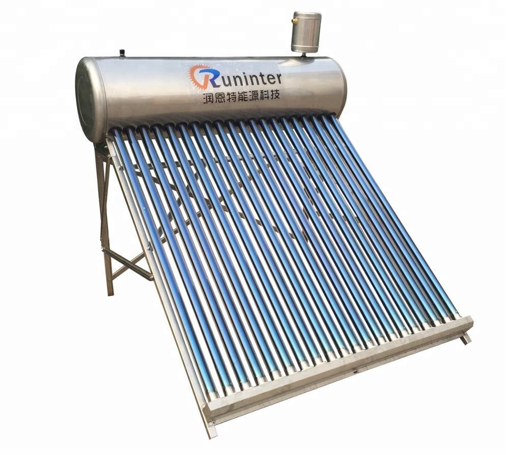 Non Pressured Solar Water Heating System, Non Pressured Solar Water ...