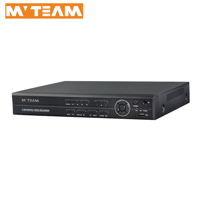 Hybrid dvr made in china 16 CH h.264 network security cctv dvr