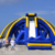 New Design NEVERLAND TOYS Beach Three Channels Giant Inflatable Screamer Water Slide For Adults