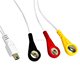 Mini Usb to 3 ECG Medical Snap Cable