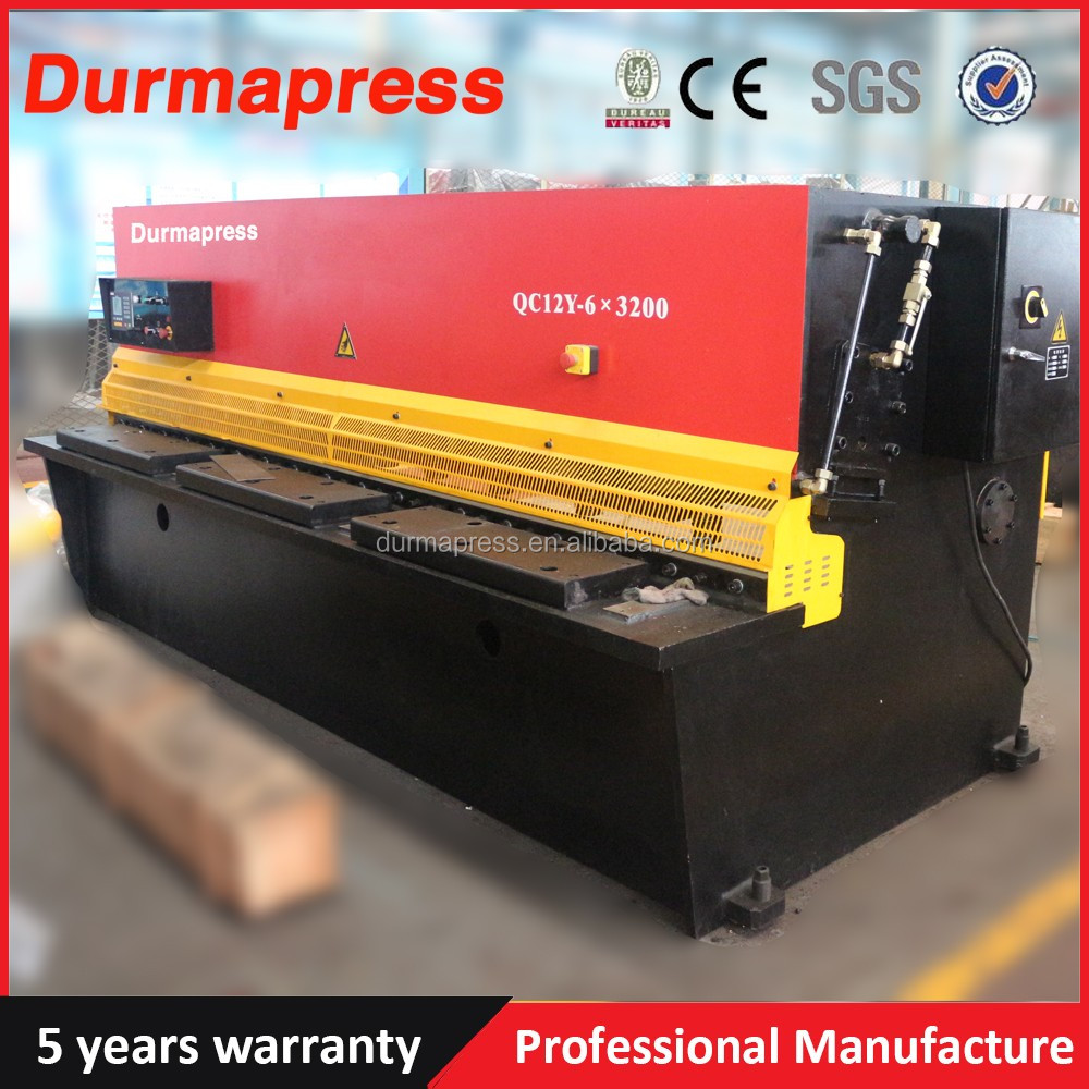 Alibaba Supplier QC12K 10x4000mm 10mm thickness 157 inch width number plate cutting <strong>machine</strong>