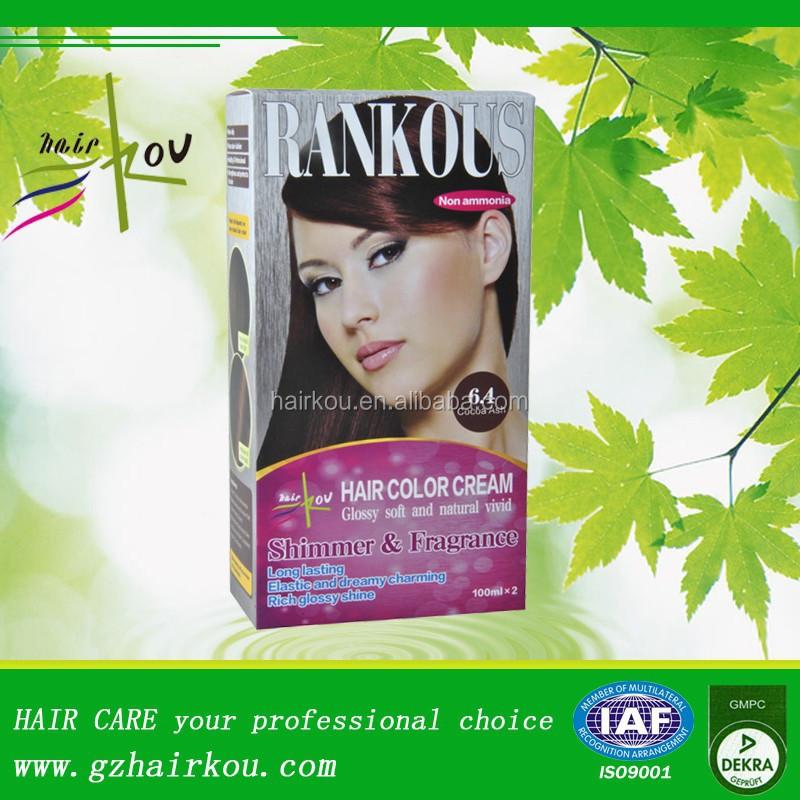 rankous non allergique cheveux dye kit semi permanent teinture pour les cheveux sans ppd - Coloration Sans Ppd