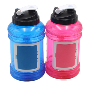 wholesale food grade bpa free samples free fashion gift 2.2l water bottle with side handle