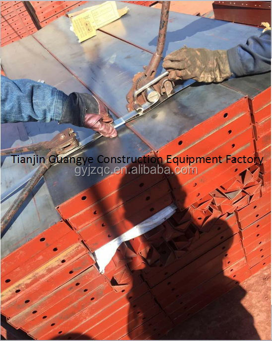 New formwork system Steel Shuttering Plates Concrete Formwork System