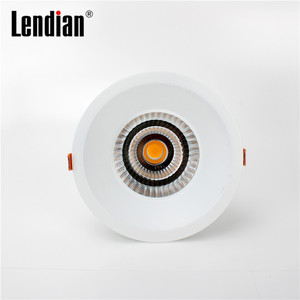 Dimming intelligent control isolated driver led downlight with 115m cutout