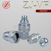 "1/2"" NPT3/8 ZJ-VF Close type Hydraulic Quick Coupling"