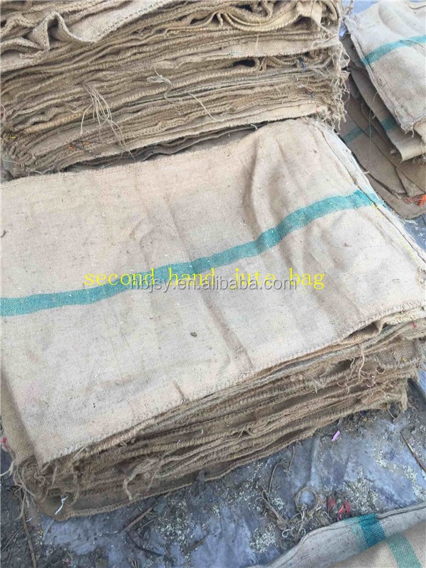 Big taobao burlap sackings used jute bags packing rice/potatoes/cocoa beans