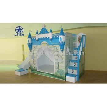 HuLuBao China Best Brand Furniture Kids Castle Bunk Bed