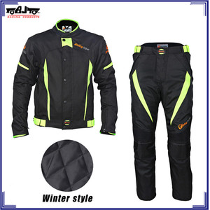 JK37B+HP08B Motorcycle Racing safety clothes Motorbike Riding Suits apparel