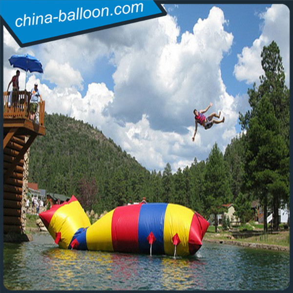 inflatable water catapult blobs jump diving tower, inflatable jumping blob