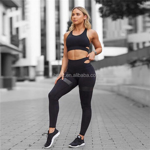 hop quality women running compression yoga leggings fitness activewear