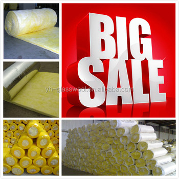 Only Usd0.289/m2 Glass Wool Blanket Half Price Hot Selling In 2015 ...