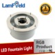 Low Consumption 6W DMX RGB LED Fountain Light For Underwater