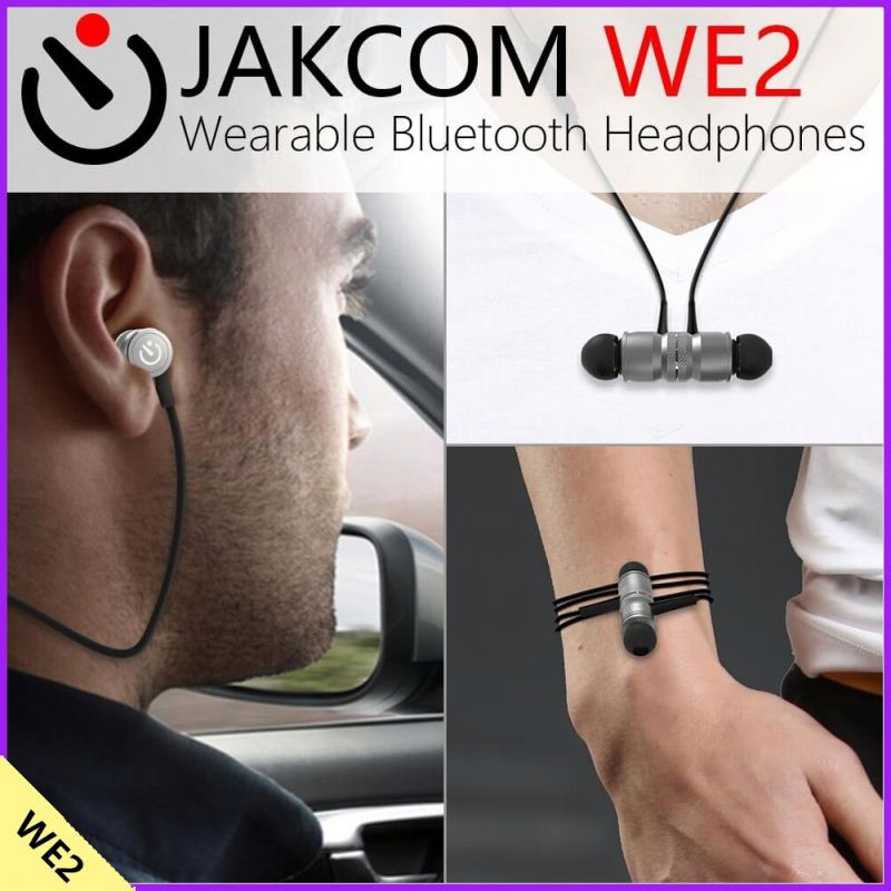 Jakcom WE2 Wearable Bluetooth Headphones 2017 New Product Of Bluetooth Car Kit As Xenon Speakers Car Disks Metal Visor Clip