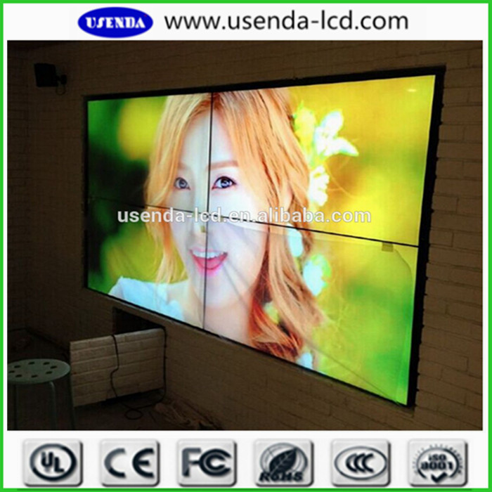 Large Screen 55 Quot Video Wall Lcd Display Frameless 5 3mm