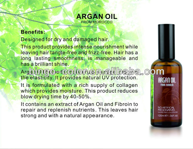 GO CARE private label wholesale OEM/ODM welcome factory argan oil anti dandruff hair care product