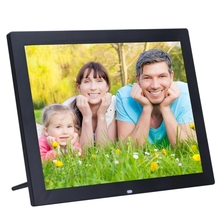 <span class=keywords><strong>15</strong></span> <span class=keywords><strong>인치</strong></span> HD LED Screen Digital Photo Frame 와 홀더 & Remote Control, Allwinner, alarm Clock/MP3/MP4/Movie Player (Black)