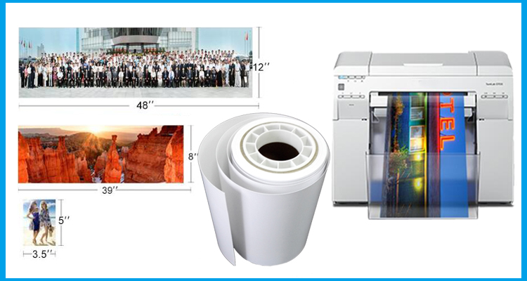 Wholesale 240gsm Luster Digital Minilab Photo Paper for Noritsu and Fuji