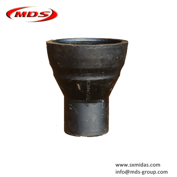 China Leading Manufacturer of Ductile Cast Iron Pipe Fitting DCI Socket Spigot for Pipe connection use