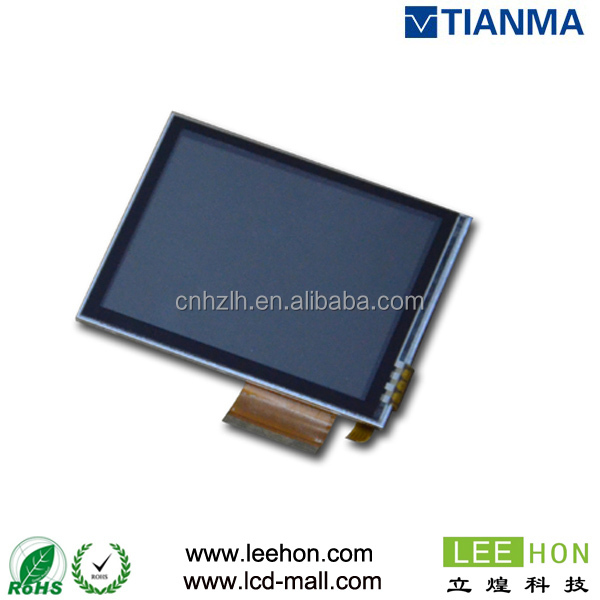Resistive touch panel integrated and sunlight readable tianma 3.5 inch tft lcd display TM035HBHT6