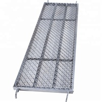 Hot-sale Catwalk Customized Scaffold Steel Mesh Plank With Hooks