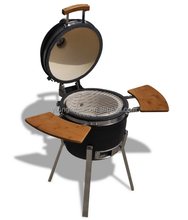 Kleine draagbare keramische houtskool bbq <span class=keywords><strong>Kamado</strong></span>/mini tafel <span class=keywords><strong>grill</strong></span>
