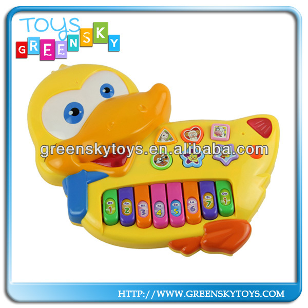 Cartoon Duck Electronic Organ toys for children