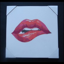 oil painting on canvas lips painting on canvas canvas oil painting