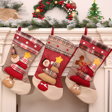 Christmas Decoration Santa Claus Gift Socks Santa's Christmas Stocking Party Accessories